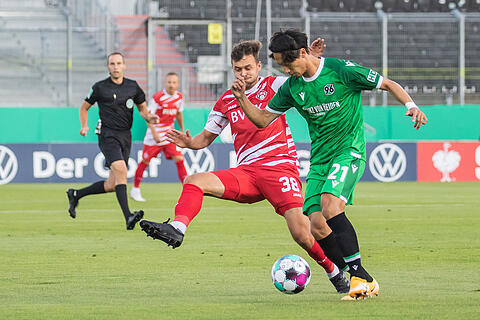 DFB Pokal: Würzburger Kickers - Hannover 96