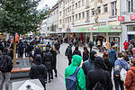 Demonstration der Antifa